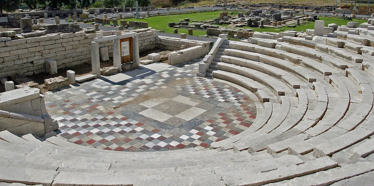 The Ancient Theatre of Messene. Image credit: Herbert Ortner