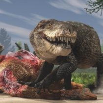 Gigantic crocodile with T. rex teeth was a top land predator of the Jurassic
