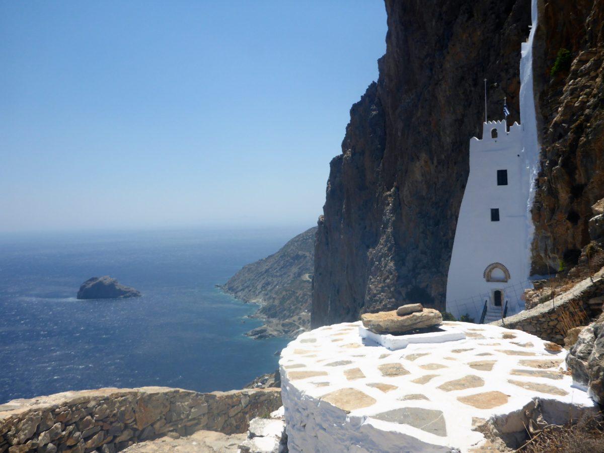 The monastery of Panagia Hozoviotissa, Amorgos