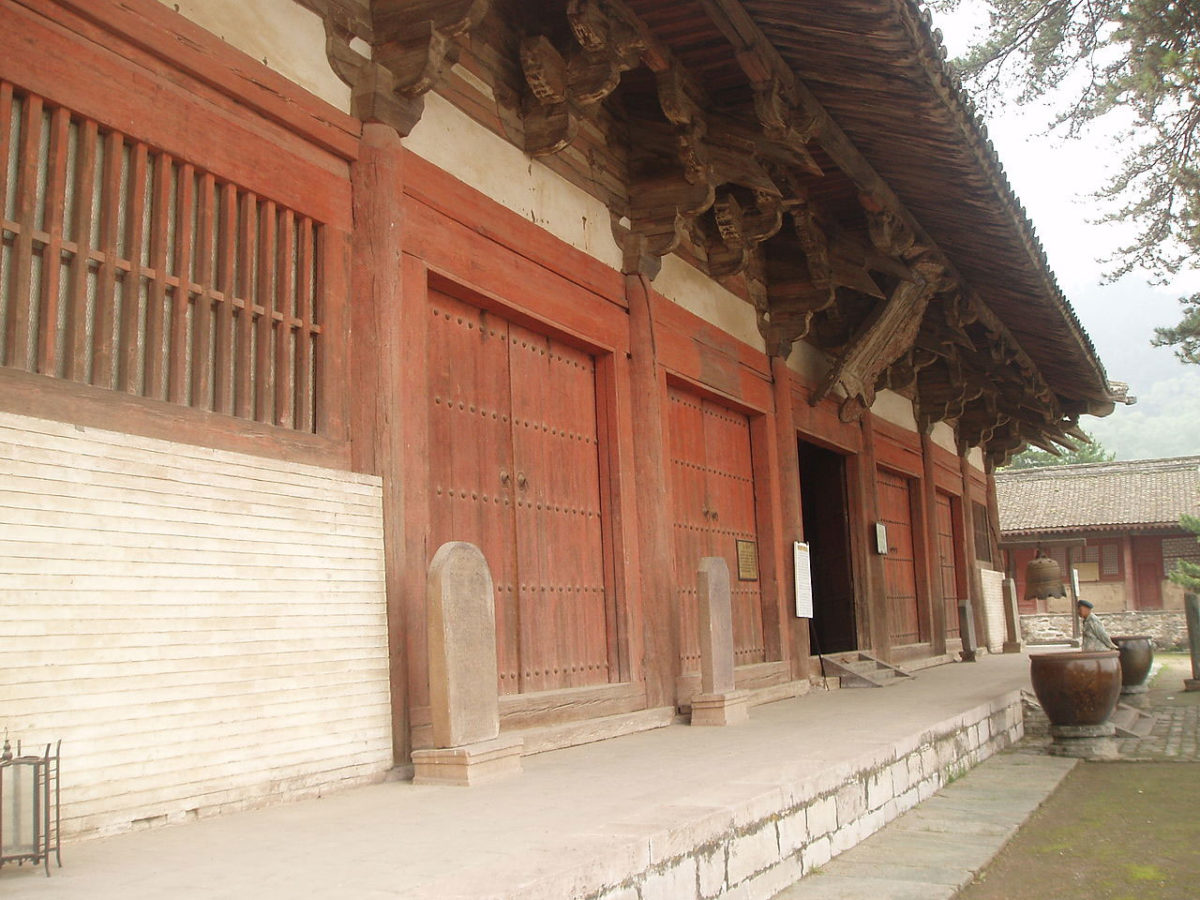 Exterior view of the Great East Hall of the Foguang Temple (photo: Wikipedia).