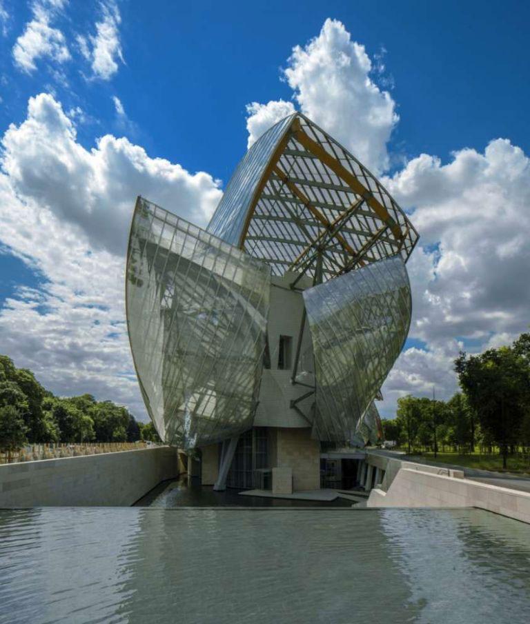 The Fondation Louis Vuitton in Paris.