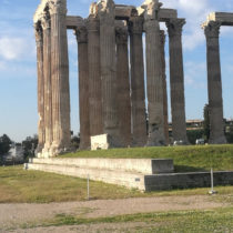 The Temple of Olympian Zeus is to be restored