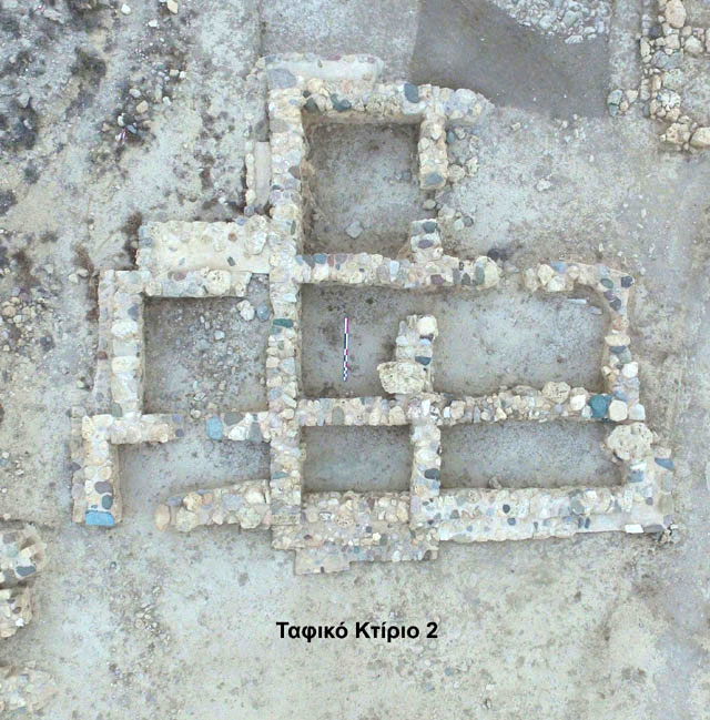 To date, 17 large funerary buildings have been excavated at the Petras cemetery. Photo: Ministry of Culture and Sports