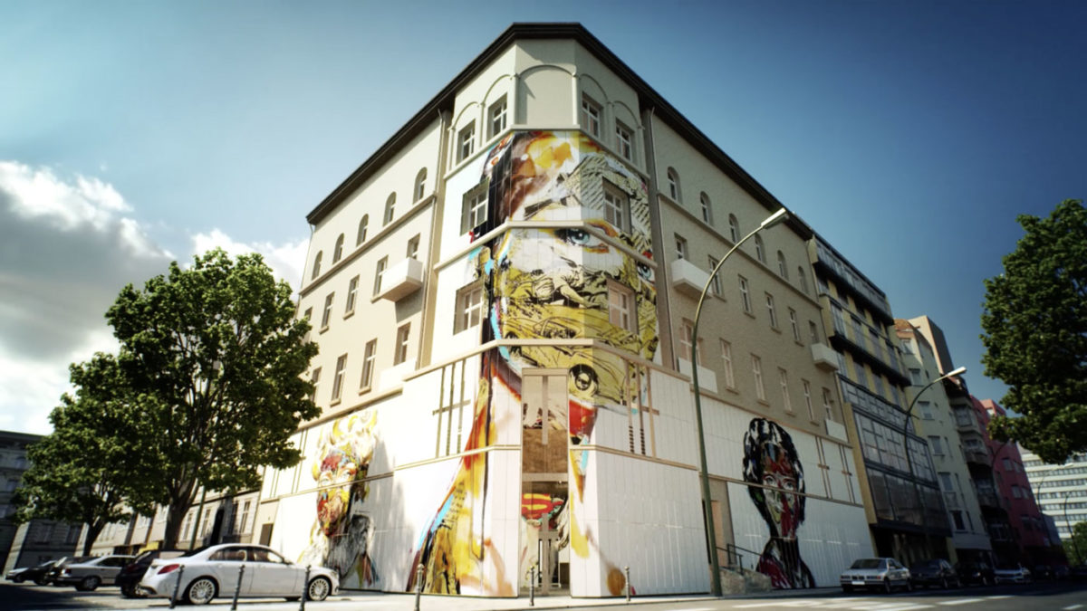 The building that houses the museum of Street Art in Berlin (photo: Urban Nation)