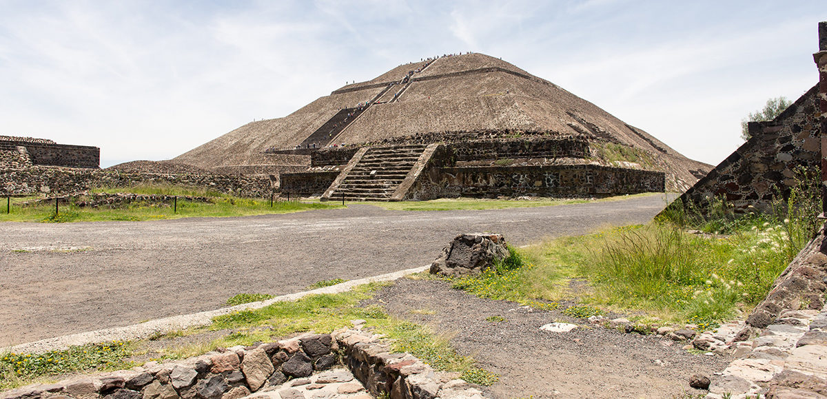 The site of Teotihuacan.