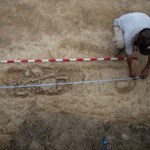 Archaeologists discovered the remains of victims from the era of the Spanish Civil War