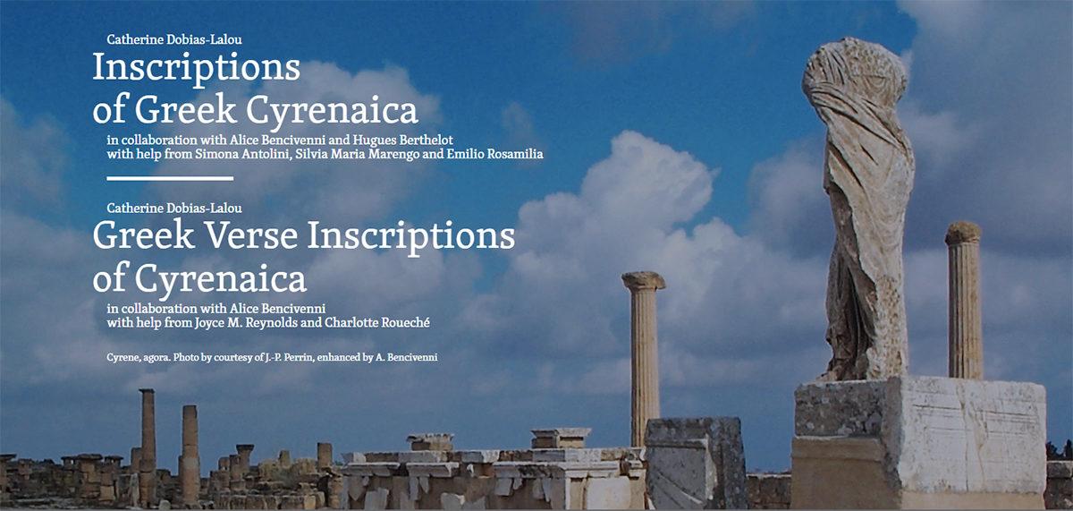 Cyrene, agora. Photo by courtesy of J.-P. Perrin, enhanced by A. Bencivenni