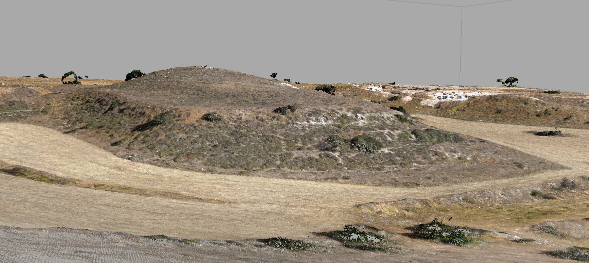 The Burial Mound of Laona (photo: Department of Antiquities of Cyprus)