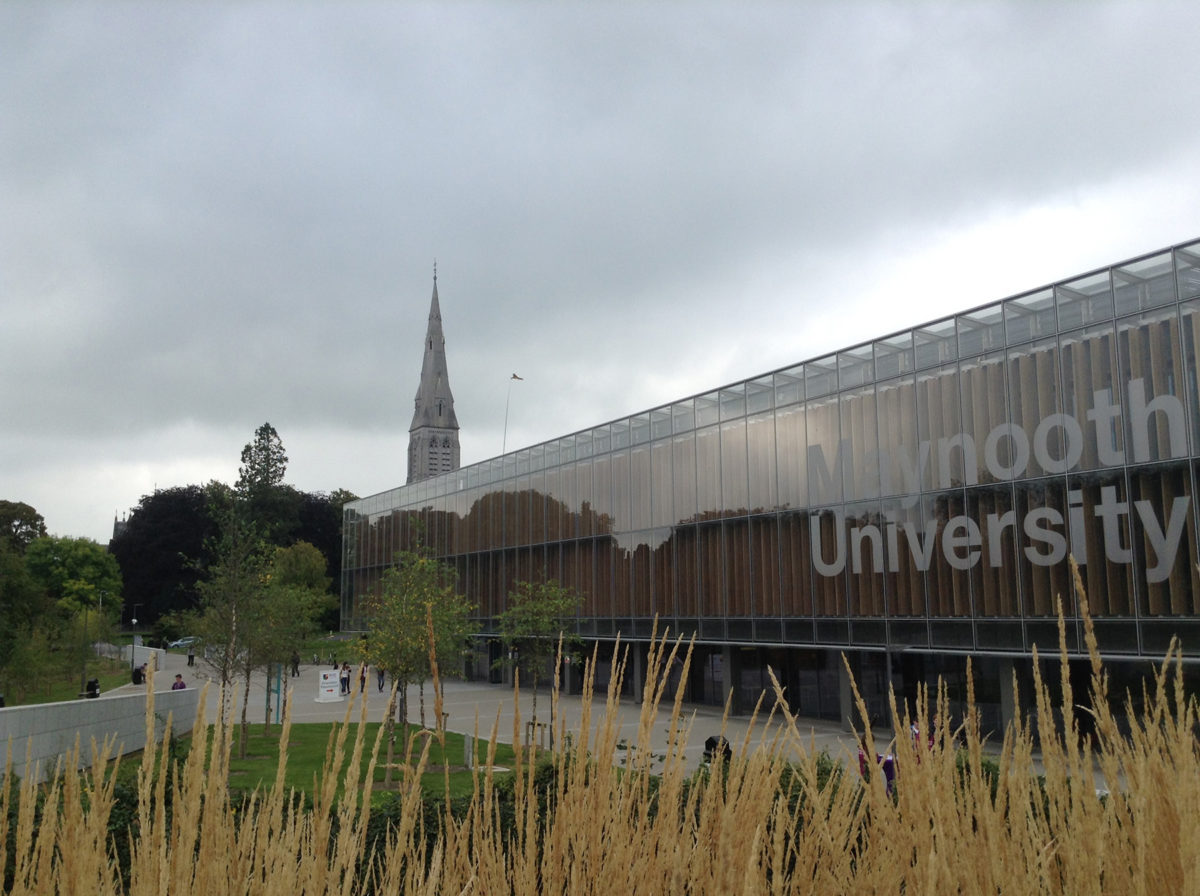 Pope St. John Paul II Library on Maynooth University's South Campus.