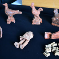 Toys recovered from tombs in ancient Greek city of Parion