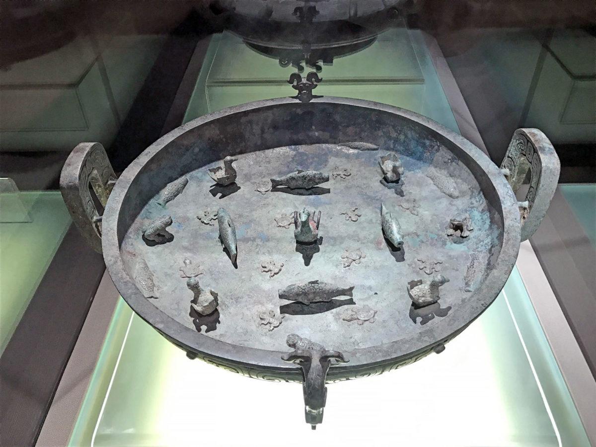 Bronze ritual basin. Credit: Zhang Xudong Shanghai Museum
