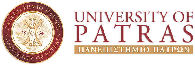 University of Patras logo.