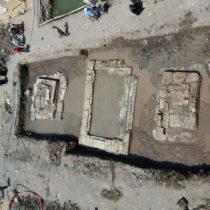 Partial statues of King Psamtik I, Ramses II and Ra-Hor-Akhti discovered