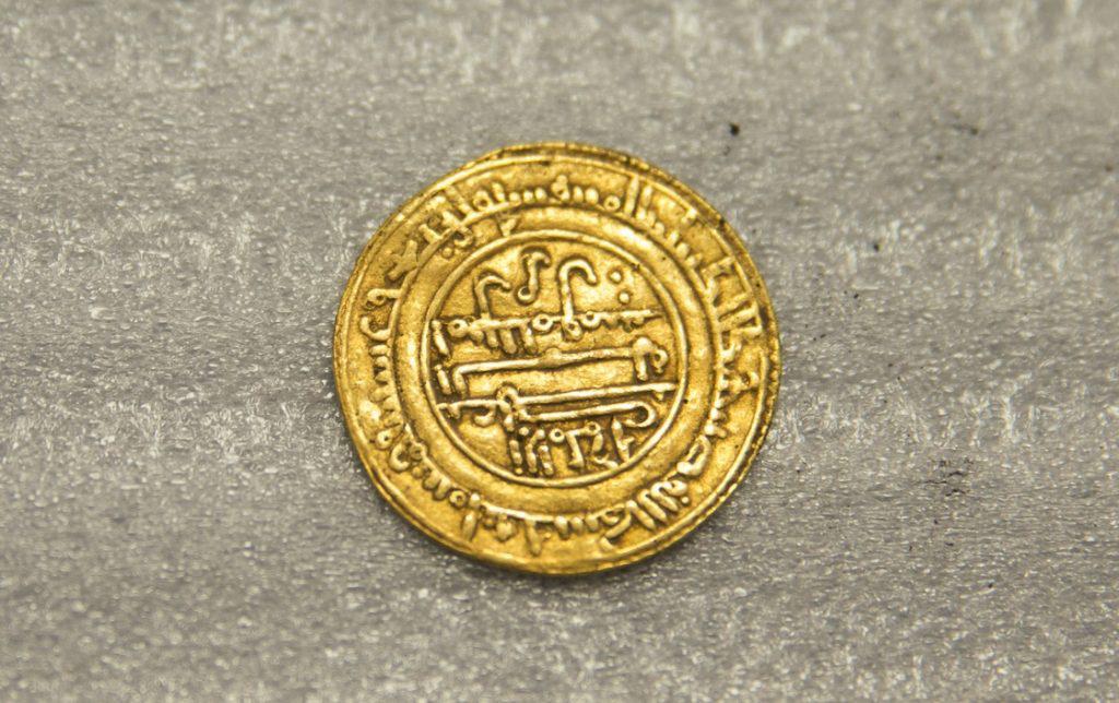 Gold dinar. Credit: Alexis Grattier-Université Lumière Lyon 2