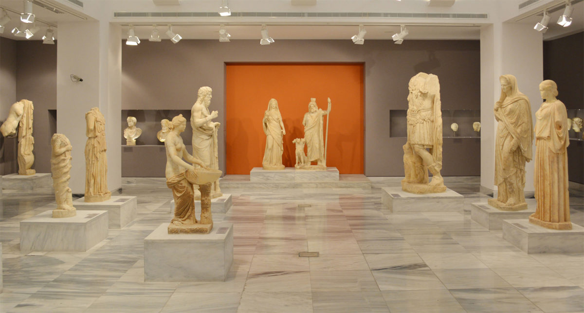 View of the Sculpture Collection of the Heraklion Archaeological Museum (Heraklion Ephorate of Antiquities)