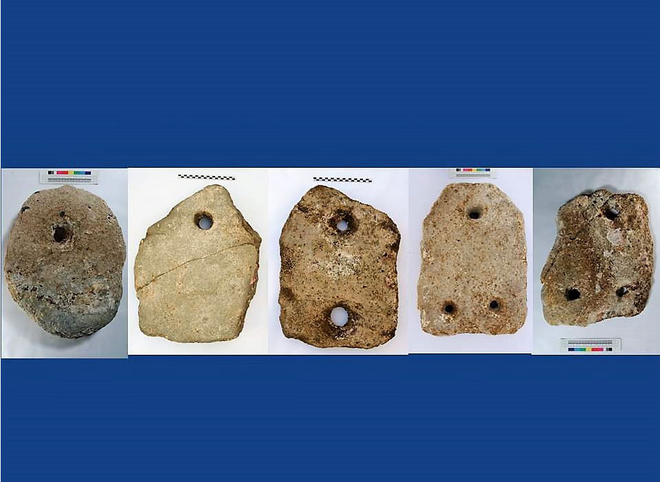 Findings from the underwater surveys on the south coast of Naxos (Photo.: Ephorate of Underwater Antiquities/ Oslo University).