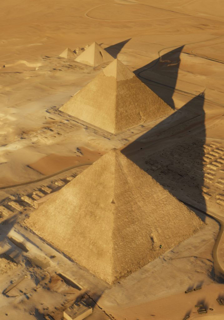 The Cheops Pyramid. Source: ScanPyramids Mission