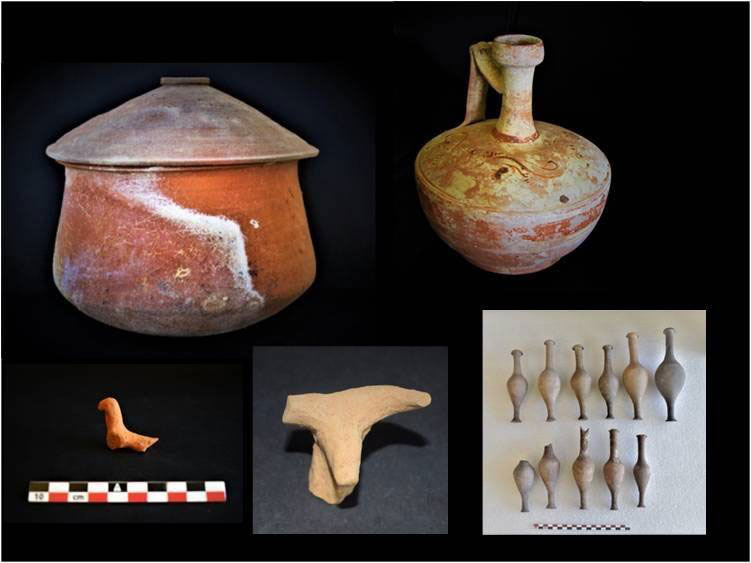 Finds from excavations at Ancient Tenea conducted for the fifth consecutive year, headed by Dr Elena Korka (photo: Ministry of Culture and Sports).