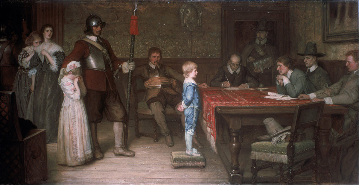 "William Frederick Yeams, ""And when did you last see your father?"", 1878, oil on canvas. Walker Art Gallery."