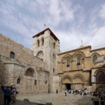 New date to Holy Sepulchre in Jerusalem given by researchers of the National Technical University of Athens