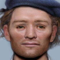 Face of Scottish soldier found in mass grave in Durham revealed