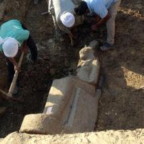Statues of Sekhmet found in Luxor