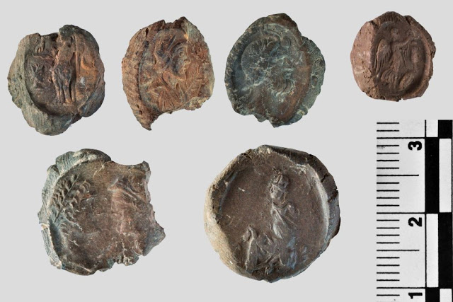 Sealings from the archive of Doliche (Credit: Asia Minor Research Centre).