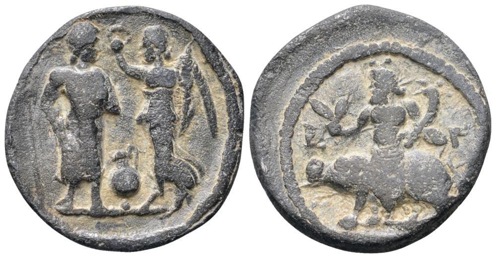 Roman tessera, 2nd-3rd century AD (ex Roma Numismatica Ltd, E-Sale 40).