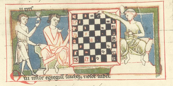 Medieval Chess Clip from Codex Buranus. By Unknown - Facsimile on IMSLP.org, Public Domain, https://commons.wikimedia.org/w/index.php?curid=13297402