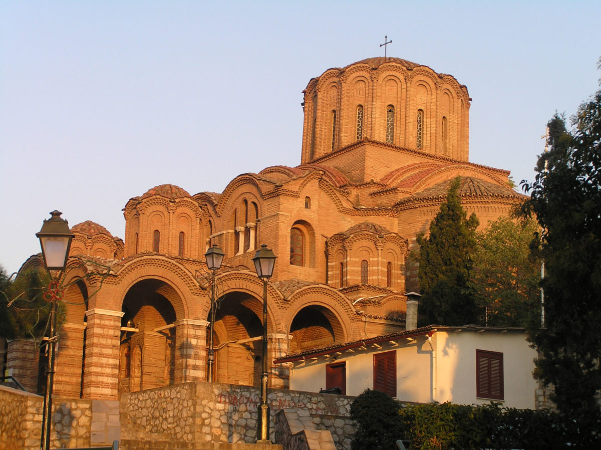Fig. 1. The church of Elijah the Prophet. View from the south (at 17:03 in October).