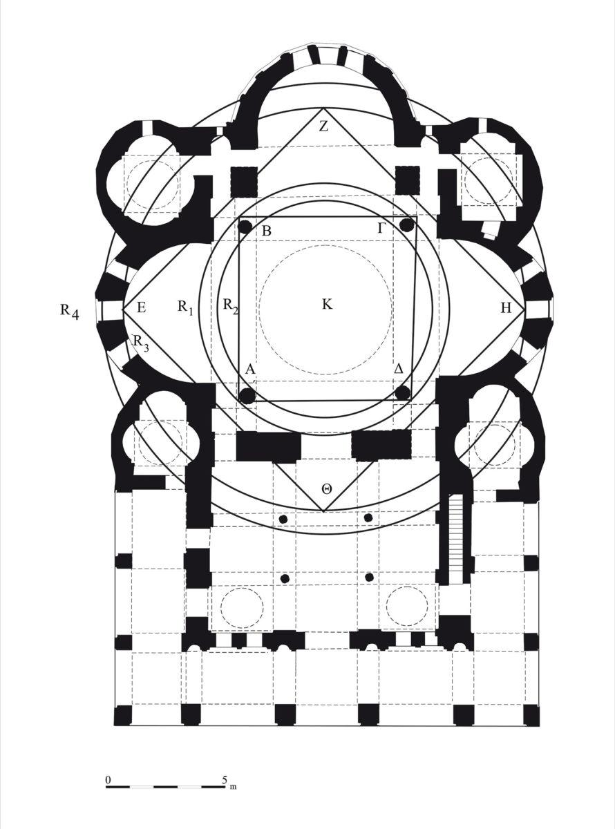 Fig. 6. Plan. Geometric planning.