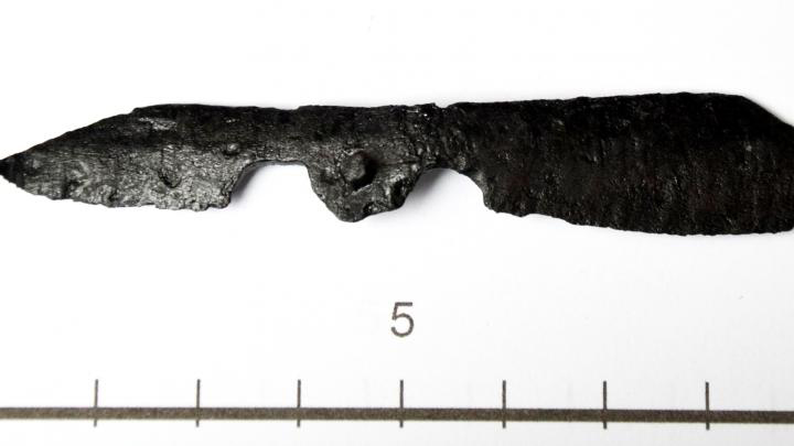 Knife from Pasym, photo by S. Wadyl