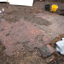 New film reveals challenges behind lifting and conserving a Roman mosaic