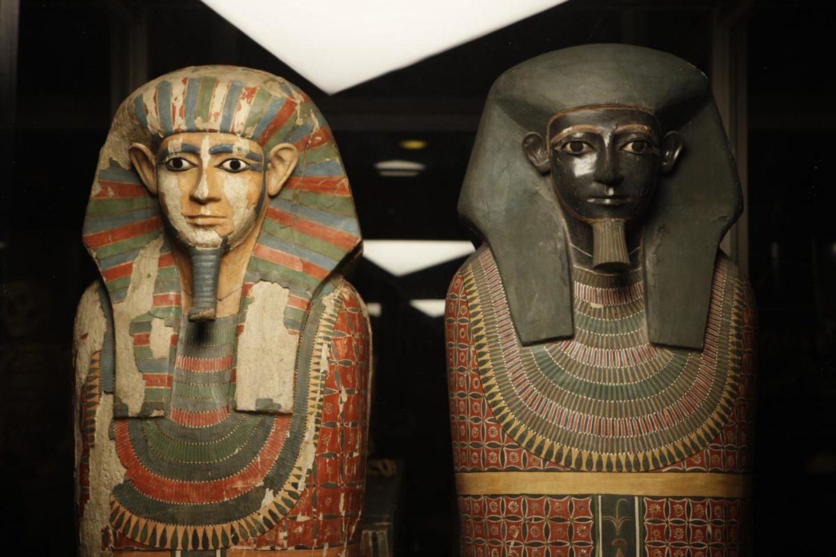 The Two Brothers are the Museum's oldest mummies and amongst the best-known human remains in its Egyptology collection. Credit: Manchester Museum, The University of Manchester