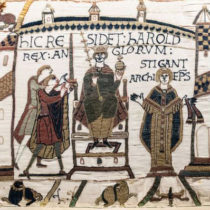 Bayeux Tapestry returns to the UK after more than 900 years