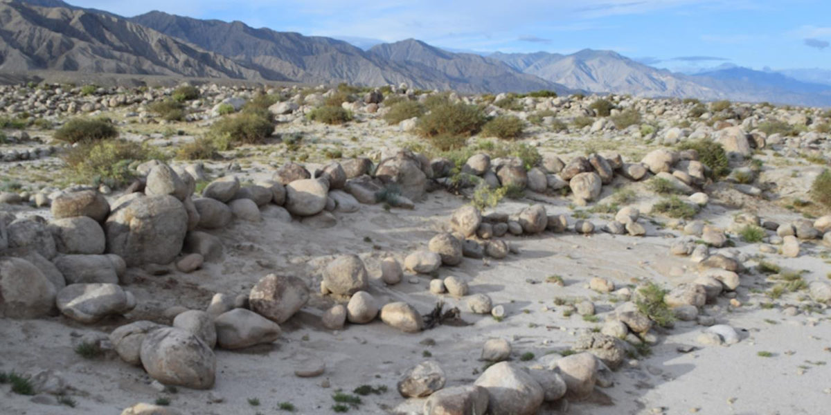 An ancient irrigation system along the Tian Shan Mountains of China allowed the cultivation of crops in one of the world's driest climates. Credit image: Courtesy of Yuqi Li, Washington University St. Louis.