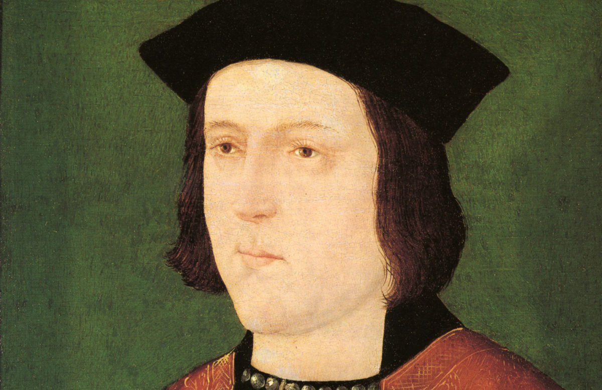 Yorkist King Edward IV.