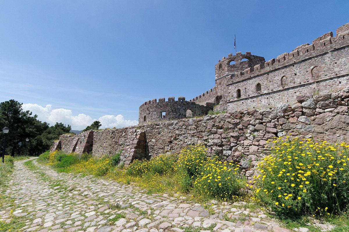 Castle of Mytilini.