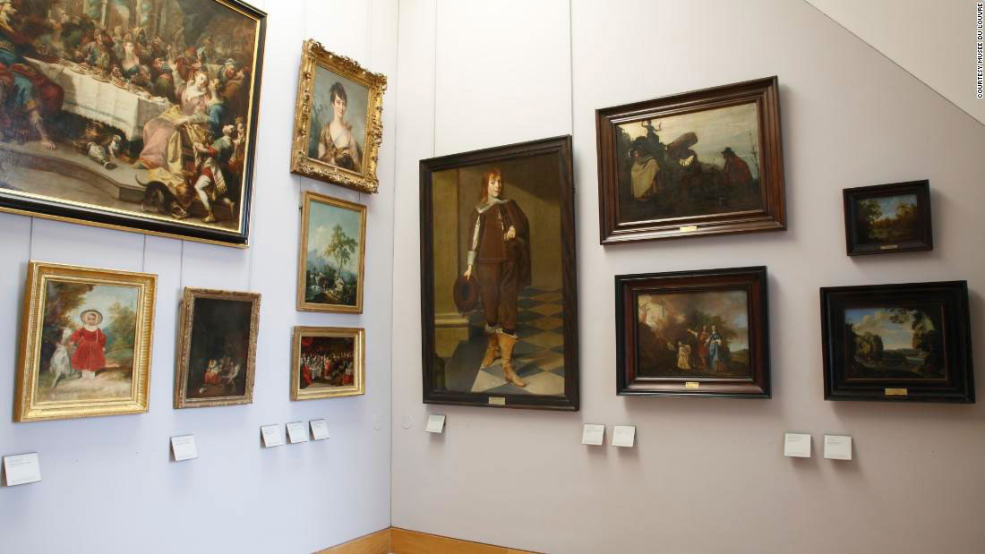 In two of its Halls, the Louvre is displaying 31 works, unsurpassed aesthetically, that are seeking their owners (photo: Musée du Louvre, from cnn.com).