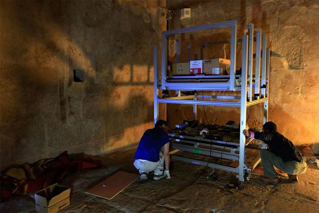 Egypt starts radar scans for secret chamber behind King Tut's tomb