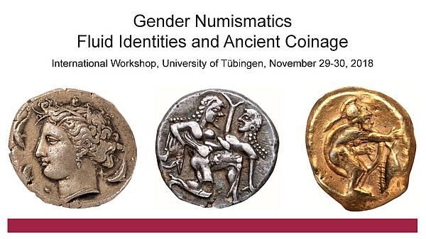 Gender Numismatics workshop poster.