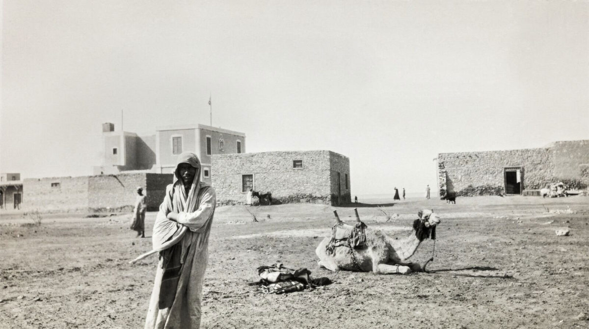 On the road to Sinai, Egypt 1929/1933. © Roussen Collection / Saint Catherine Foundation