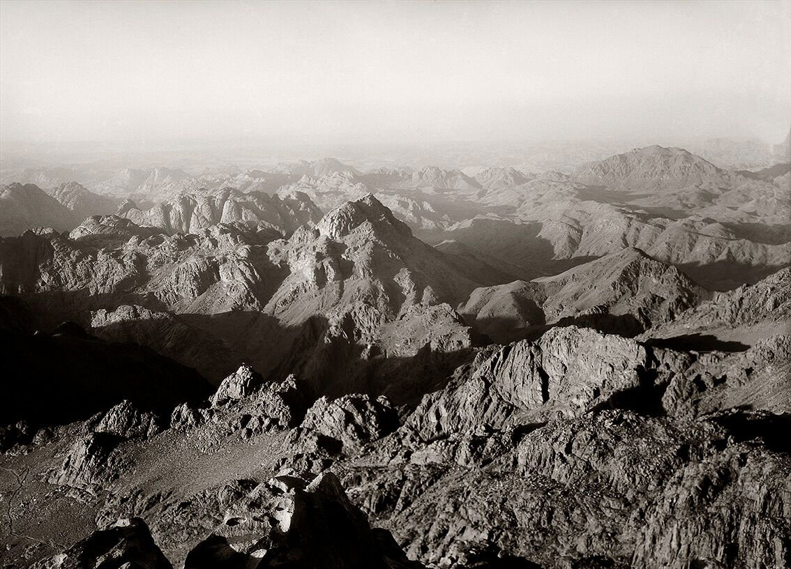 Mount Sinai, 5 June 1933. © Roussen Collection / Saint Catherine Foundation.