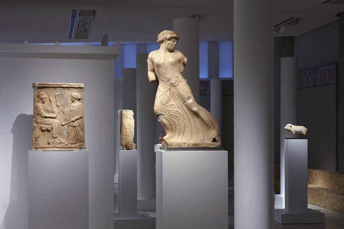 "View of the exhibition ""Eleusis. The great mysteries"", presented at the Acropolis Museum. Photographed by: Giorgos Vitsaropoulos © Acropolis Museum"