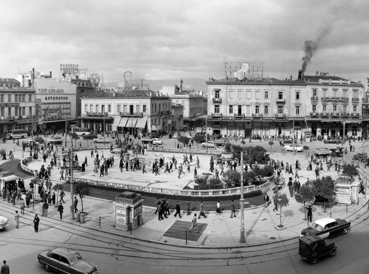 Dimitrios Harissiadis, Omonia Square, 1955.