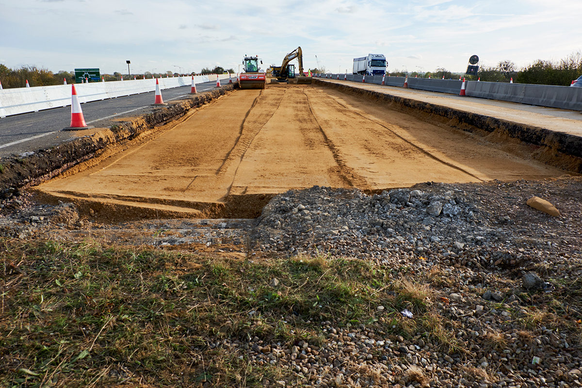 The sites have been uncovered by archaeologists working on Highways England's £1.5bn scheme to upgrade the A14 between Cambridge to Huntingdon.