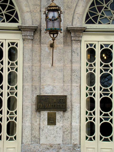 The entrance of the Pharmaceutical Museum in Matanzas (photo: Matanzascity.org).