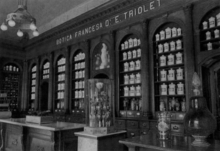 The old French pharmacy