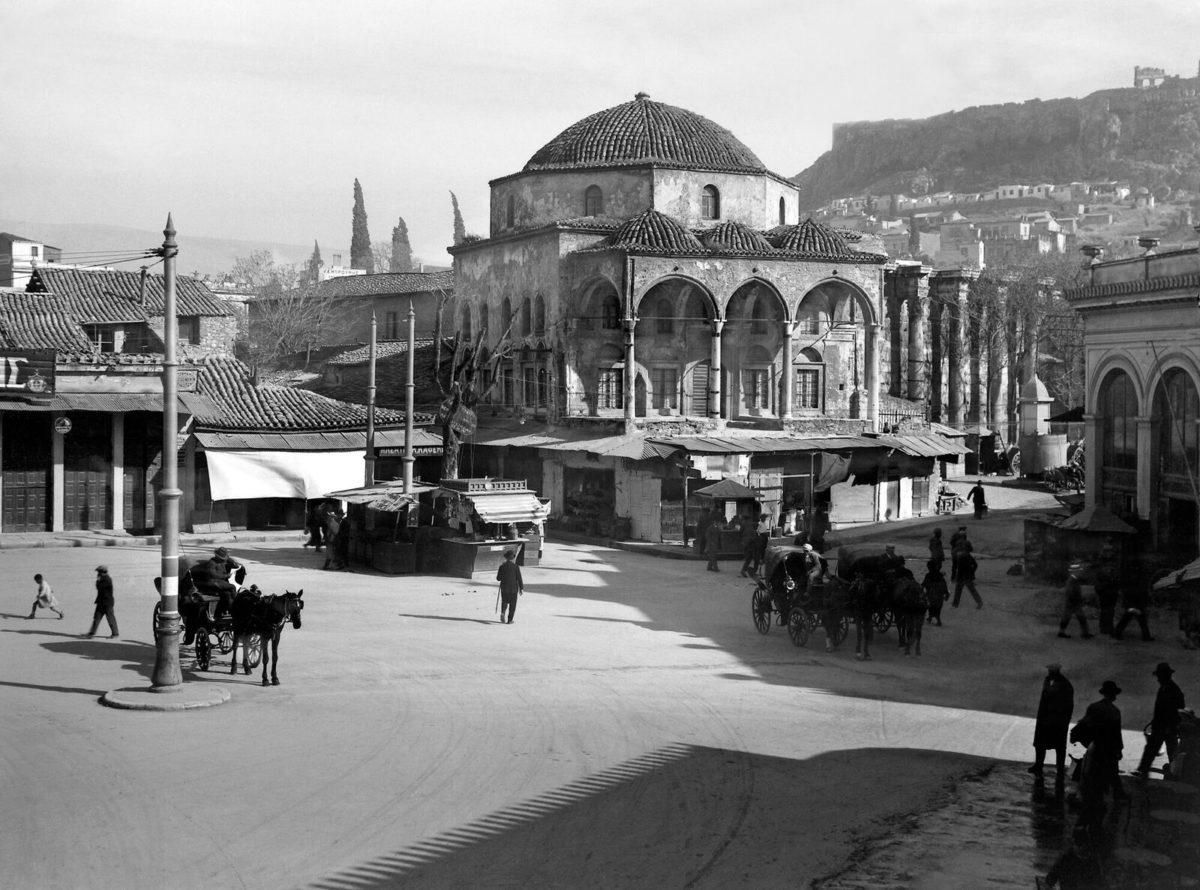 Nelly's, The Tzisdaraki mosque in Monastiraki, 1927-29.