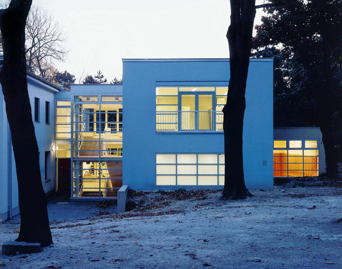 Conversion and extension of Schweizerspende nursery in Vienna, 1993-1995.